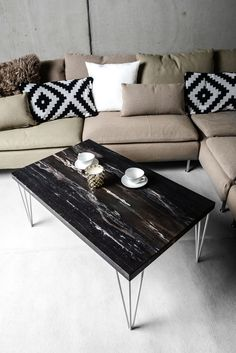 by Sunwood Stainer Wood Design, Wood Table, Dark, Fossil, Tables, Sun, Furniture, Home Decor, Home