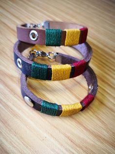 Leather bracelets.  Our new Rasta range.  Shop online www.alloutcreations.co.za Leather Bracelets, Belts, Range, Shopping, Jewelry, Fashion, Jewellery Making, Moda, Cookers