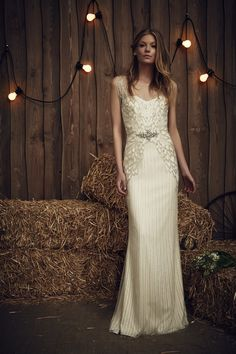 629187ca491 Jenny Packham 2017 Bridal Collection - Lyra Oooohh how I love  JennyPackham  Vintage Wedding Dresses