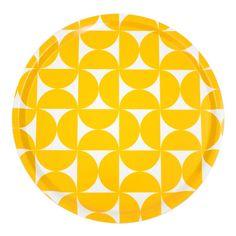 Bricka Dolores gul stor - Kök - Produkter - Designtorget