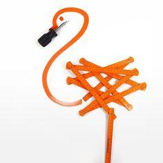 Sunday sketching: toolbox #flamingo