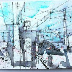 Simone Ridyard (@simoneridyard) в Instagram: «Piccadilly Station Manchester, quick sketch #manchester #aquarell #art #painting #watercolor #watercolour #sketch #paint #drawing #sketching #sketchbook #travelbook #archisketcher #sketchaday #sketchwalker #sketchcollector #traveldiary #topcreator #usk #urbansketch #urbansketchers #скетчбук #скетч #скетчинг #pleinair #aquarelle #watercolorsketch #usk #architecture #painting #illustration