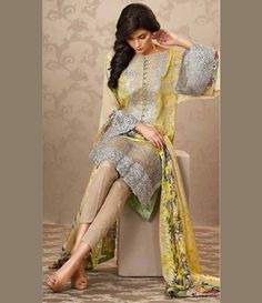 Sobia Nazir Silk Chiffon Collection 09