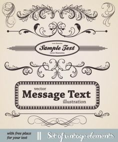 european classic lace pattern 04 vector