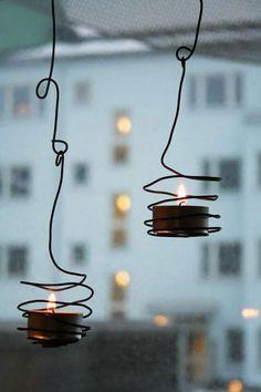 decorar com vela