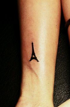 Eifel tower tattoo-so tempting