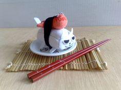 Tako sushi cat Magnet by zeropumpkin on Etsy, $16.90