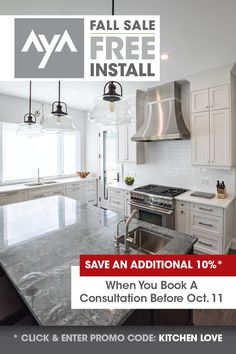 Don't miss out on these huge savings! Kitchen Cabinet Manufacturers, White Kitchens, Kitchen Cabinetry, Design Consultant, New Kitchen, Service Design, Kitchen Design, Modern, Home Decor