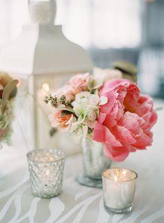 #peony  Photography: Vicki Grafton Photography - vickigraftonphotography.com  Read More: http://www.stylemepretty.com/2015/01/15/summertime-chesapeake-bay-beach-club-wedding/