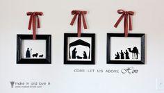 DIY nativity sets