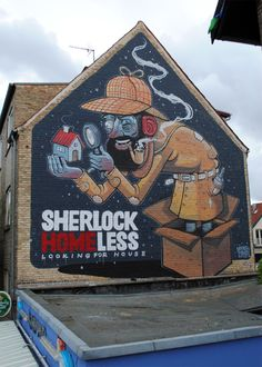 Sherlock Homeless by Diego Della Posta, via Behance