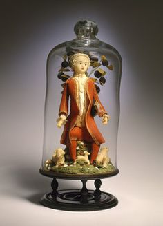 Male wax doll from the 18th century.