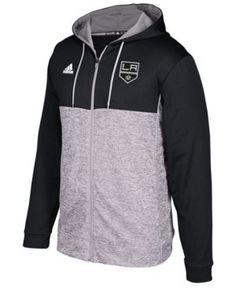 adidas Men's Los Angeles Kings Two Tone Full-Zip Hoodie - Gray XL