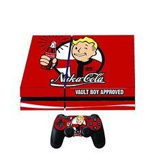 Nuke Cola premium Designer PS4 Playstation 4 Skin + 2 Free PS4 Controller Skins