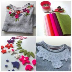 Altering clothes, t shirt diy, sewing tutorials, sewing hacks, pretty outfi Simple Outfits, Stylish Outfits, Umgestaltete Shirts, Abaya Mode, Kleidung Design, Diy Vetement, Diy Mode, Crochet Diy, Diy Clothes Videos