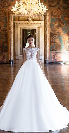 Milla Nova Bridal 2017 Wedding Dresses kara / http://www.deerpearlflowers.com/milla-nova-2017-wedding-dresses/15/