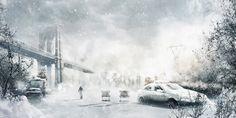 Images for Desktop: snow storm pic, 540 kB - Amory Bishop