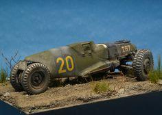 Dieselpunk racer vehicle. Titled: Glühkäfer by Brian Krueger. #racer #dieselpunk