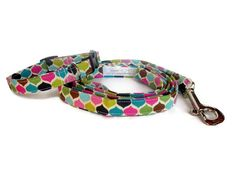 Modern Punk Dog Leash Set size Extra Small by jeanamichelle, $28.00