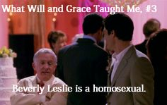 Attention Republicans! Beverly Leslie is a homosexual. I repeat: Beverly Leslie is a homosexual!