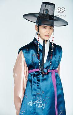 "Joo Won as Kyun Woo in ""My Sassy Girl"""