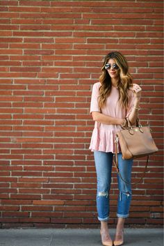 Blush Top | The Girl in the Yellow Dress