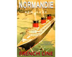 art deco ship travel posters - Google Search