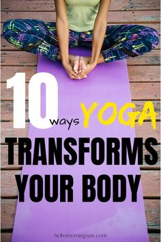 10 Ways Yoga Transforms Your Body - Ab Exercises Mindfulness For Beginners, Mindfulness Techniques, Mindfulness Exercises, Mindfulness Activities, Yoga For Beginners, Beginner Yoga, Yoga Exercises, Yoga Workouts, Bikram Yoga