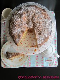 torta di mele con crumble al cocco