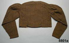 Spencer jacket 1825-40. Digitalt Museum