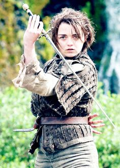 Game of Thrones. Arya water dancing.