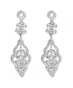 Gabbi Chandelier - Chandeliers R499  Elegant drop crystal earring