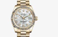Datejust 31 #rolexwatches #rolex #womenwatches  #luxurywatches #GEARYS #rolexwatchesforwomen #womenluxurywatches http://www.gearys.com/rolex