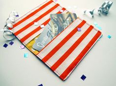 Card wallet tutorial Gift Card Credit Card Holder by tiedyediva