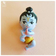 Baby Krishna, Cute Krishna, Krishna Radha, Mirror Ornaments, Christmas Tree Ornaments, Lord Photo, Doll Toys, Dolls, Bal Gopal