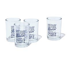 Stussy Livin' General Store Universal Tumbler.  #stussy #generalstore #shotglasses