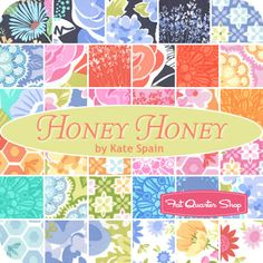 Honey Honey Jelly Roll Kate Spain for Moda Fabrics - Fat Quarter Shop