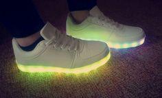 #new#fashion#shoes#led#ledshoes#blingbling