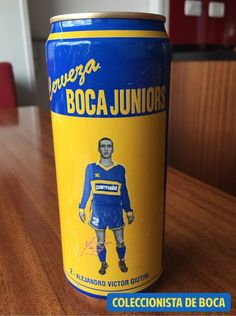 Cerveza Boca Juniors 1992-1993. N2.  Alejandro Giuntini.