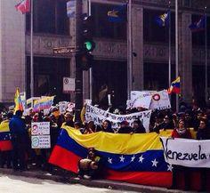 Supporting Venezuela from Chicago #PrayForVenezuela #SOSVenezuela  #22F