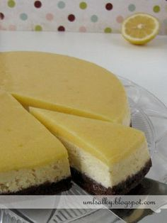 U mlsalky: Citrónový cheesecake s Lemon Curd Lemon Curd, Sweet Desserts, Cheesecake Recipes, Cheesecakes, Good Food, Food And Drink, Cupcakes, Cooking, Hana