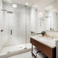Mirror Inspiration - Eclectic Bathroom by JP Warren Interiors
