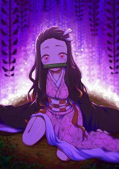 Kamado Nezuko - Kimetsu no Yaiba - Image - Zerochan Anime Image Board Girls Anime, Kawaii Anime Girl, Anime Art Girl, Demon Slayer, Slayer Anime, Anime Angel, Anime Demon, Lolis Neko, Natsume Yuujinchou