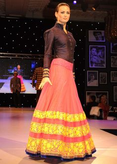 Designer Suits By Manish Malhotra 2012 Models showcasing manish