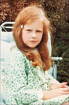 Nicole Kidman. This is little Nicole but my friend Marty is her doppleganger. Red hair and all!