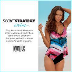 #MMSecretStrategy 32: Flirty keyhole neckline from Monroe and Main.
