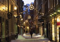 Christmas time in Gamla Stan (Old Town), #Stockholm