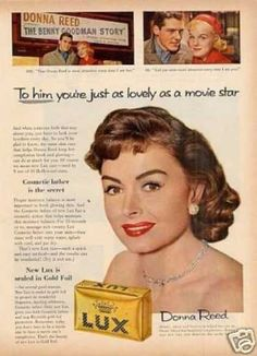 Lux Soap Ad Donna Reed (1956)