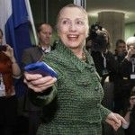 The watchdog group Judicial Watch filed a Freedom of Information Act lawsuit against the State Department Thursday seeking paperwork on Hillary Clinton's request to use an iPad or iPhone for officia