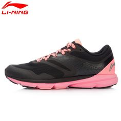 44.94$  Buy here - Li-Ning Women's Rouge Rabbit Smart Running Shoes Cushioning SMART CHIP Sneakers LiNing Sports Shoes ARBK086 XYP445  #buychinaproducts